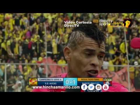 Declaraciones Jonathan Alvez   Aucas vs barcelona / Directv Sports