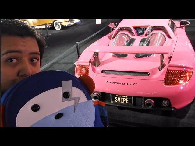 Finding Salomondrin CAR!!! At the LA Auto Show!! And getting the SVIPE