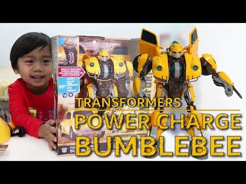 POWER CHARGE BUMBLEBEE TRANSFORMERS | YG TOYS