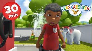 Venskabsbyen - 3 episoder - sjov for børnene!