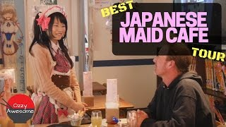 Best Japanese MAID CAFE Tour Ever!「字幕付き」
