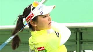 golf swing セキユウティン Yuting Seki 石昱婷 スマイル(^^)超簡単1日1回上達への近道!! セキユウティン 検索動画 26
