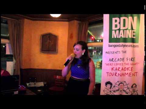 Arcade Fire Karaoke - Lindsey Miller