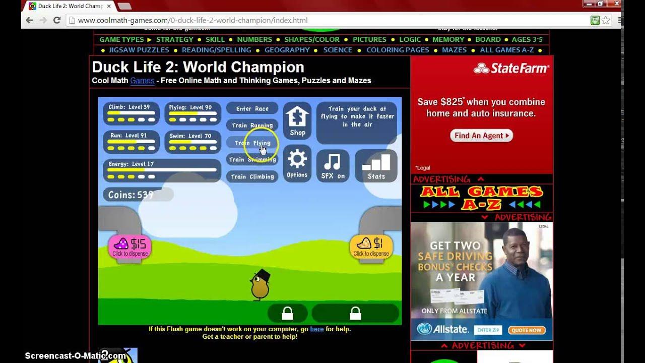www coolmath games com duck life 3 | Games World