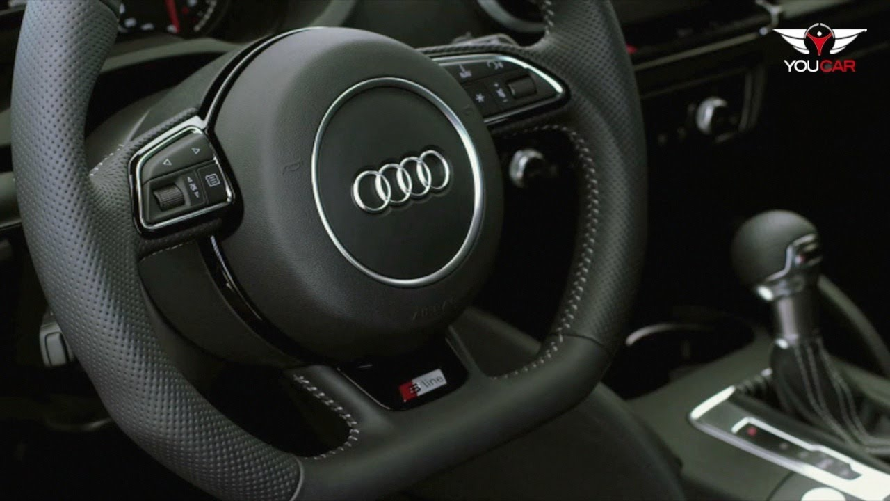2013 audi a3 s line interior youtube