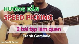 Học solo guitar - 2 bài tập làm quen sweep picking theo kiểu Frank Gambale [HocDanGhiTa.Net]