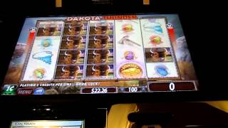 Dakota Thunder penny slot machine.