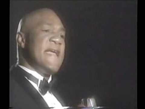 George Foreman sings Impossible Dream