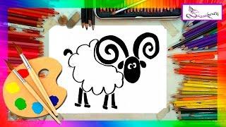 Como Dibujar Un Carnero Dibujo Fácil para Niños