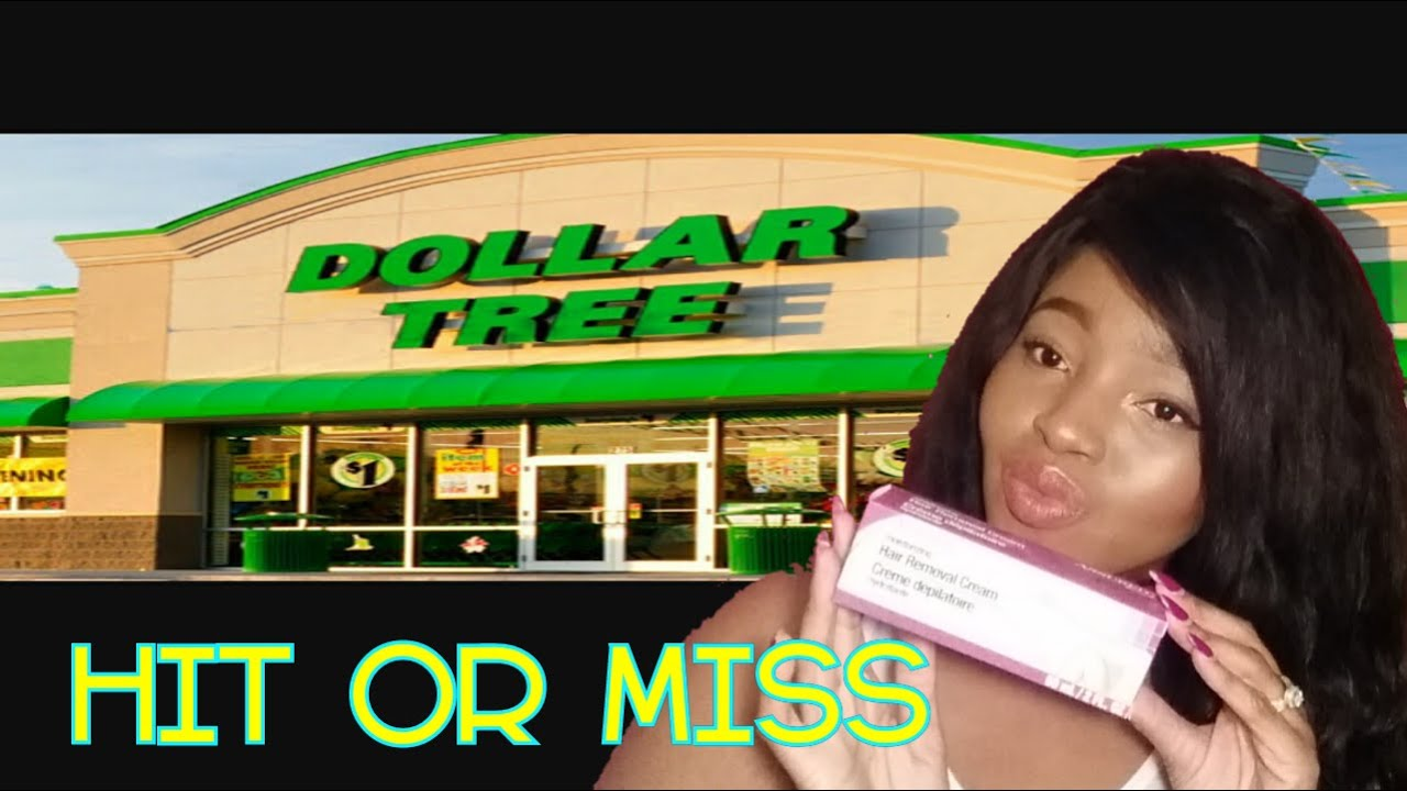 Testing Dollar Tree Products | Hair Removal Cream - YouTube