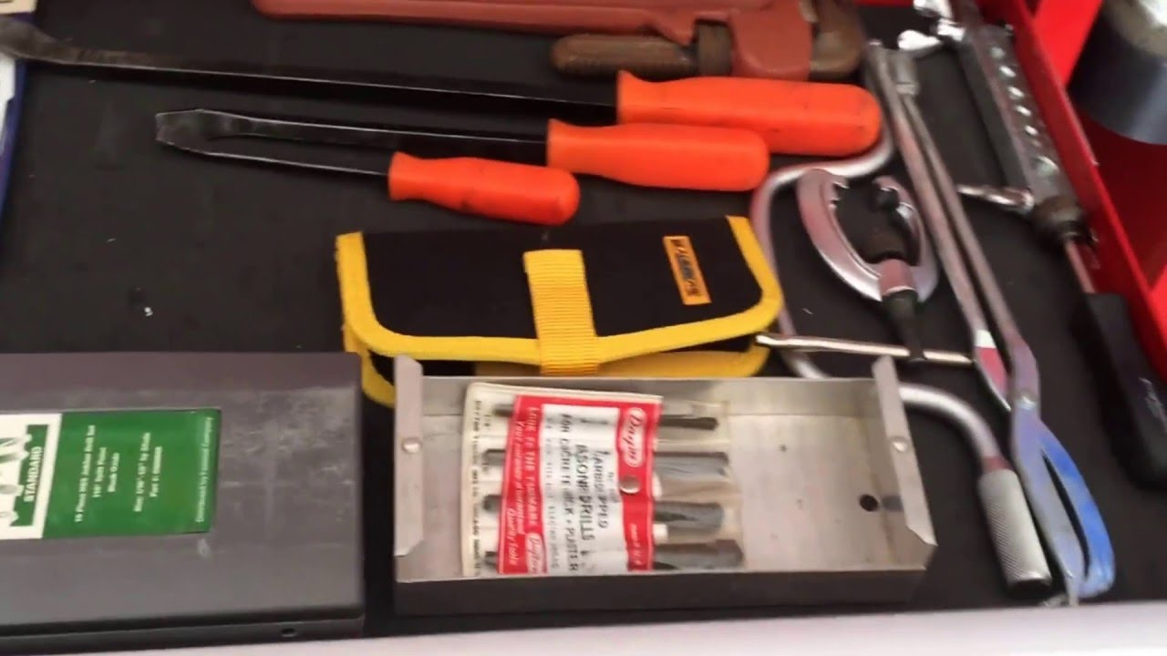 us general harbor freight tool chest review and tool box tour youtube