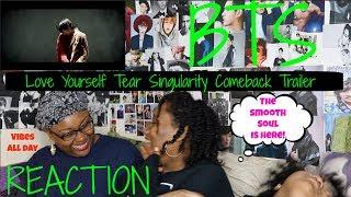 BTS LOVE YOURSELF TEAR SINGULARITY COMEBACK TRAILER REACTION