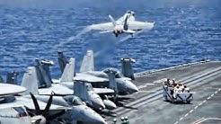Aircraft Carrier Flight Deck & Bridge • USS Ronald Reagan