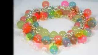 Jewelry with semi-precious stones and Swarovski crystals Thumbnail