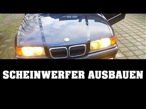 Bmw Scheinwerfer Ausbauen E36 Headlights Exchange Youtube