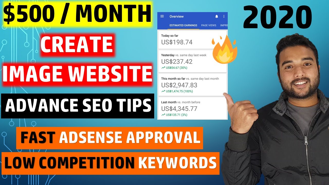 🔥 Create FREE Image Website on Blogger From Scratch, Make $500/Month Using Adsense image