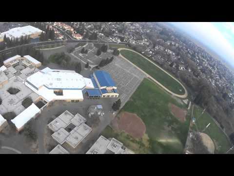 Apprentice S15 e Flight Over Vaca Pena Middle School