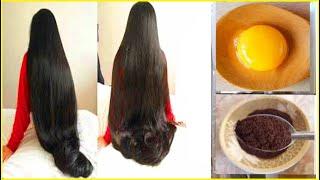 Быстрее Отрастите БЛЕСТЯЩИЕ и ШЕЛКОВИСТЫЕ волосы с помощью Яиц и Кофе уход за волосами