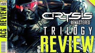 Crysis Remastered Trilogy Review A Nostalgia (Trip)licate