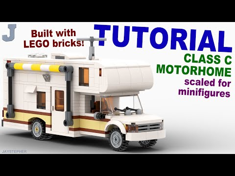 Tutorial On How To Build A Class C Motorhome With LEGO Bricks