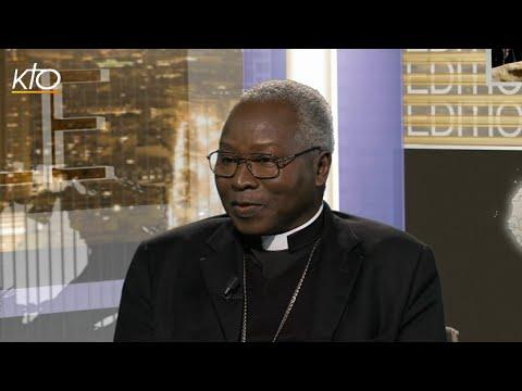 Cardinal Philippe Ouédraogo, archevêque de Ouagadougou (Burkina Faso)