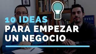10 Ideas Rentables Para Empezar Un Negocio