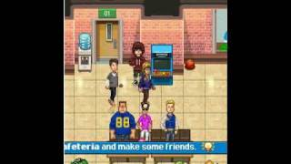 High school hook ups - mobile game - walktrough part 1. - YouTube