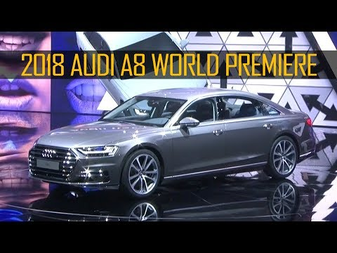 2018 Audi A8 Revealed at the Audi Summit with host Kunal Nayyar