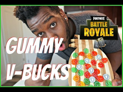 DIY FORTNITE GUMMY V-BUCKS