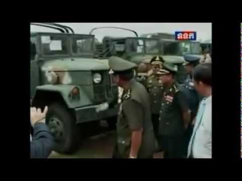 Military's vehicle Donate From South Korean and  Cambodian Military trainning