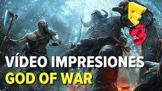 God of War 4 - Vídeo Impresiones versión extendida E3 2016