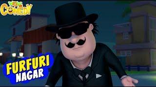 Motu Patlu Cartoon in Hindi |Furfuri Nagar Mein Bhoot| Ep 73B | 3D Animated Cartoon for Kids