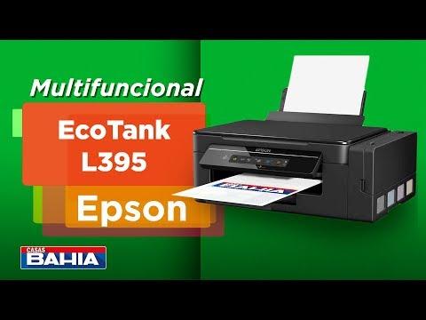 Multifuncional Tanque de Tinta Epson EcoTank L395 Wireless