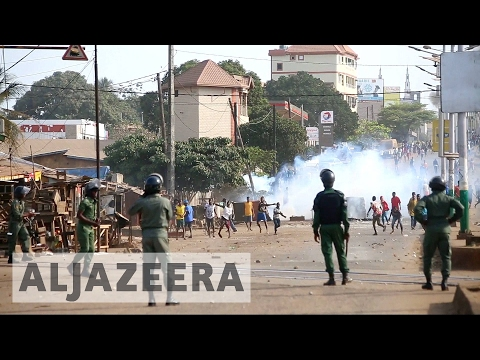 Six killed during protests over teachers' strike in Guinea