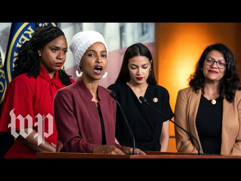 How each member of the Democratic 'Squad' responded to Trump