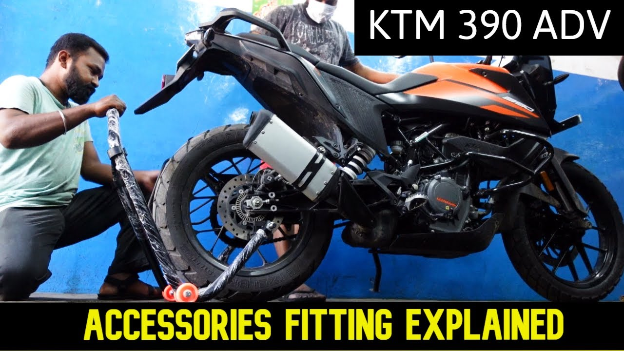 Must Have Touring Accessories for KTM 390 ADVENTURE   Tamil