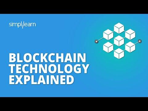 Blockchain Technology Explained | What Is Blockchain? | Blockchain Tutorial | Simplilearn