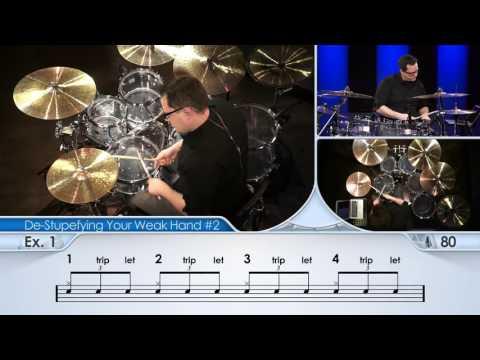 Drum Lessons (Drumeo) - Прокачка Вашей Слабой Руки - (#2). BKR