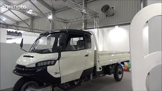 3 wheels car - made in China (Piaggio APE style) WUZHENG 2019