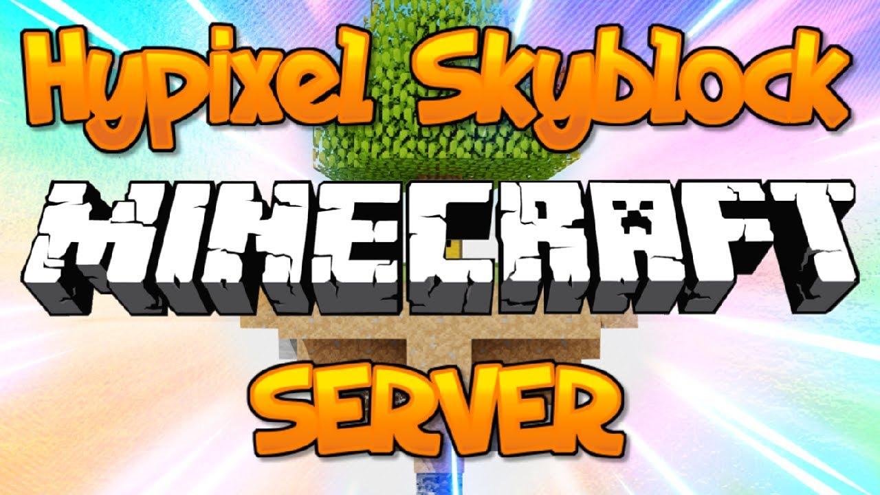 New Op Skyblock Server Hypixel Skyblock 1 8 1 9 1 10 1 12 1 13 1 14 2019 Hd Youtube