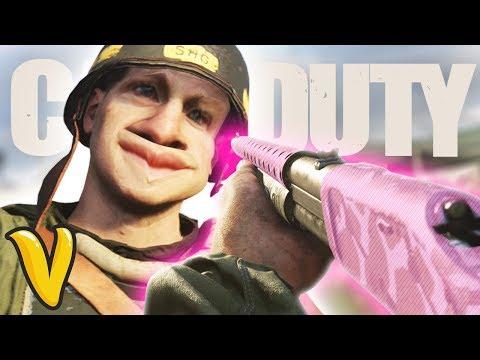 COD WW2 INSANE SHOTGUN KILLSTREAK! Call of Duty World War 2 Funny Moments Xbox One