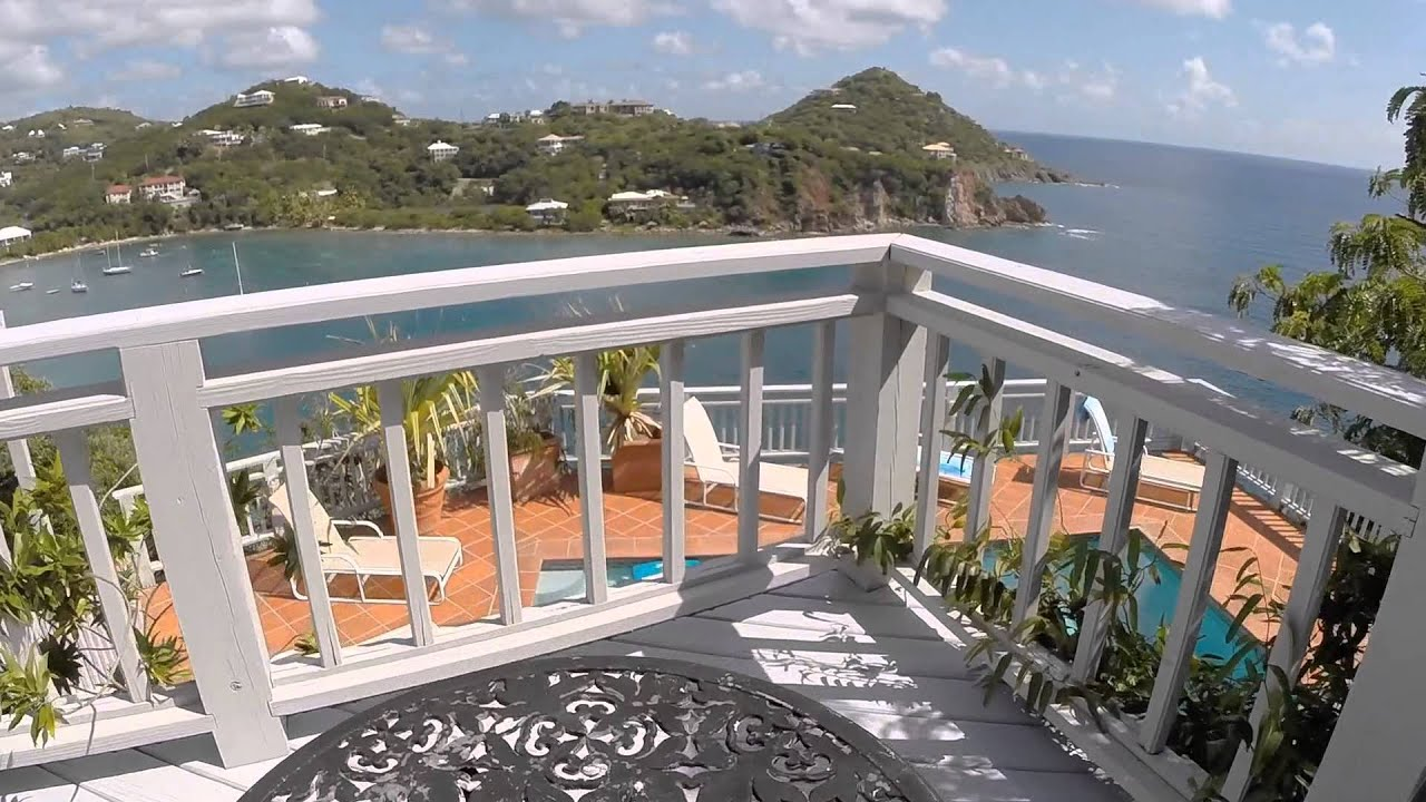 Southern Cross Villa In St. John USVI Aerial Tour