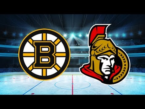 Boston Bruins vs Ottawa Senators (5-1) All goals and Highlights!! [Extended]
