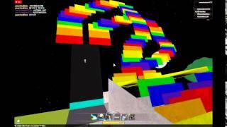 Rainbow Road Mario Kart 8 Roblox Style