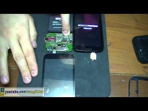 Ремонт Fly IQ4404 Spark разборка и замена сенсора