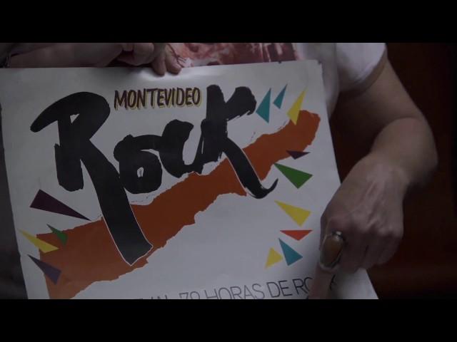TV Ciudad presenta la historia del logo y afiche - Montevideo Rock 2017