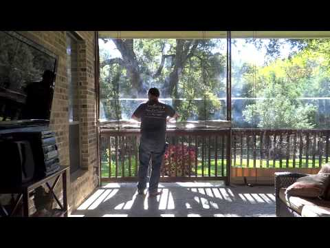 How To Operate Southern Patio Enclosures   Clear Vinyl Patio Enclosures  Drop Curtain System