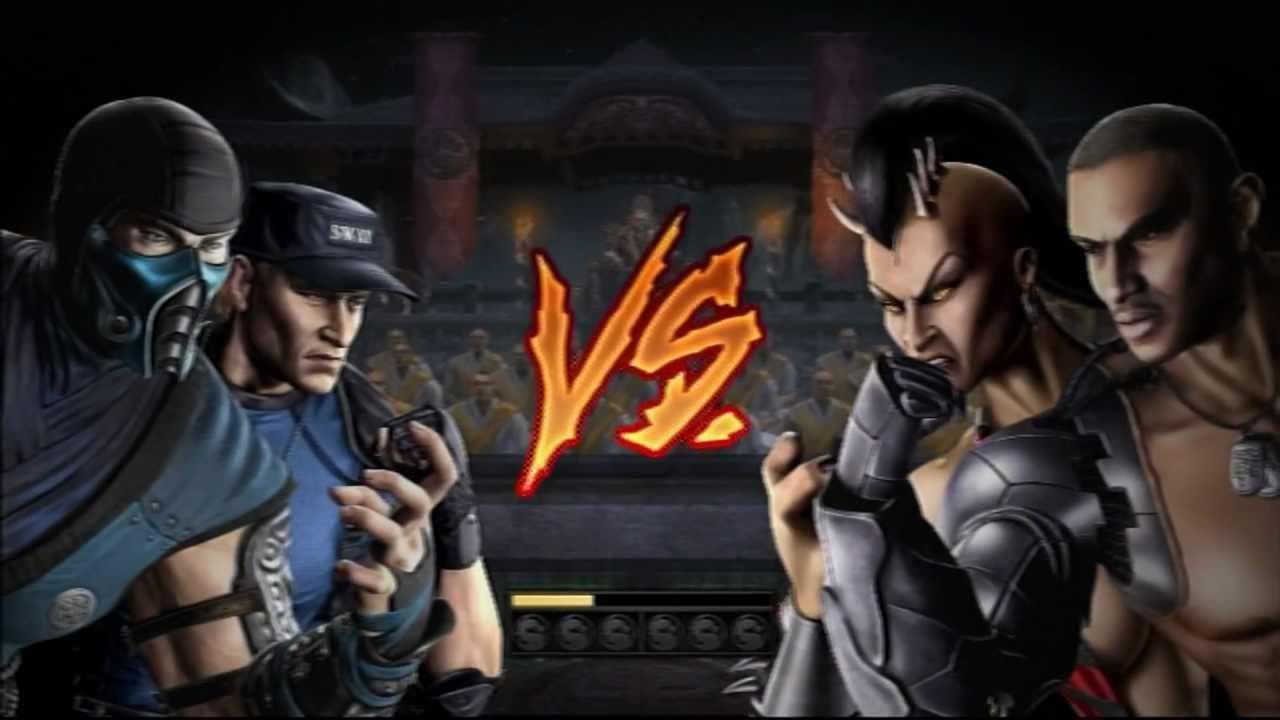 Mortal Kombat 9 Versus Mode 2 Player (PS3) - YouTube