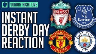 LIVERPOOL 1: 1 EVERTON / MAN UNITED 1: 2 MAN CITY | SUNDAY NIGHT BREAKDOWN LIVE | FT @GT4ABL