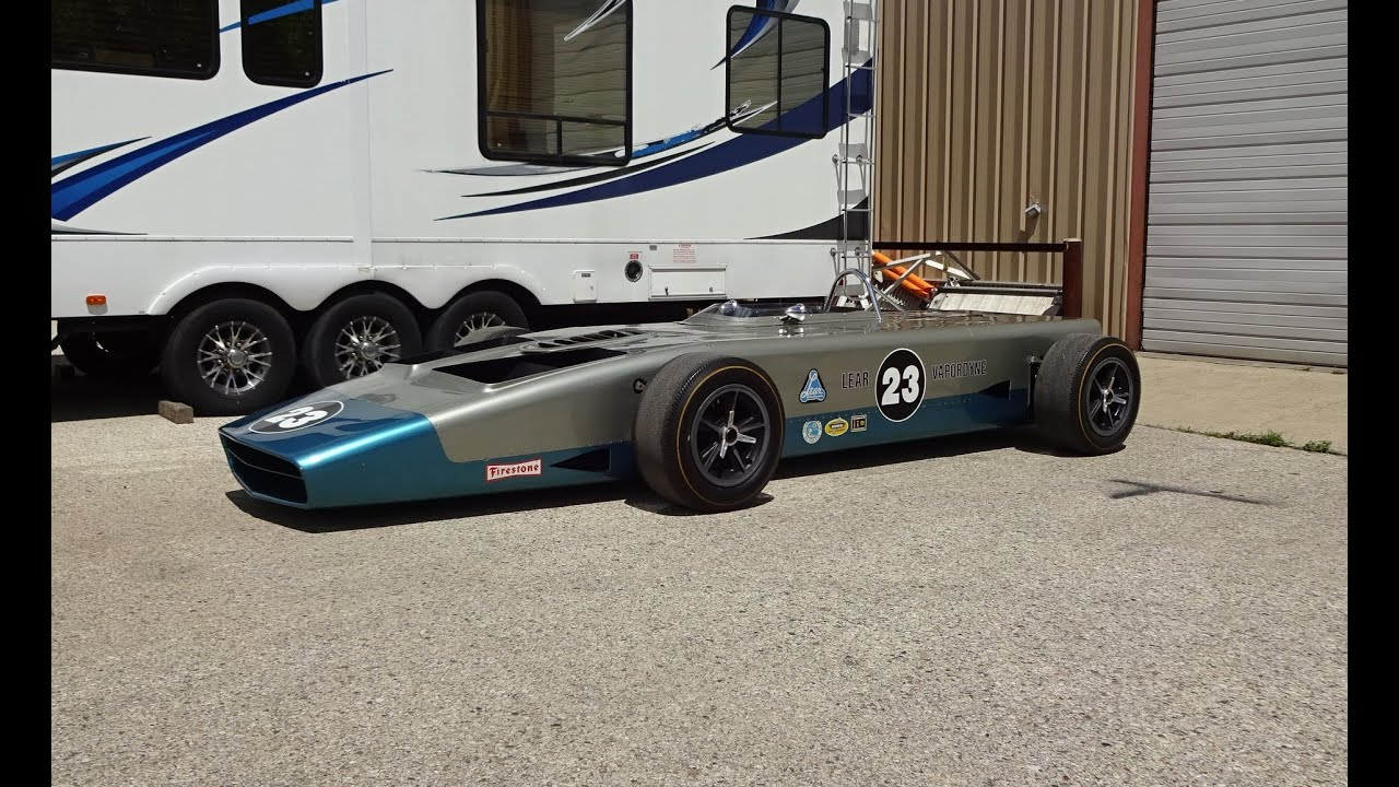 Lear Steam Race Car